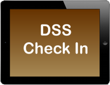 DSS Check In App on Apple iPad