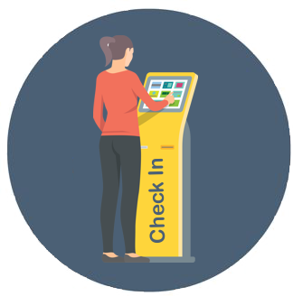 Visitor Management systems organize customers for faster service