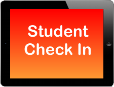 Student Check In App on Apple iPad